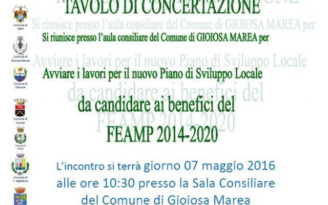 TAVOLO DI CONCERTAZIONE FEAMP 2014 - 2020